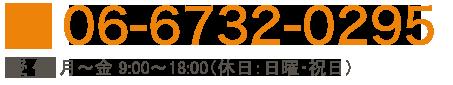 電話番号:06-6732-0295